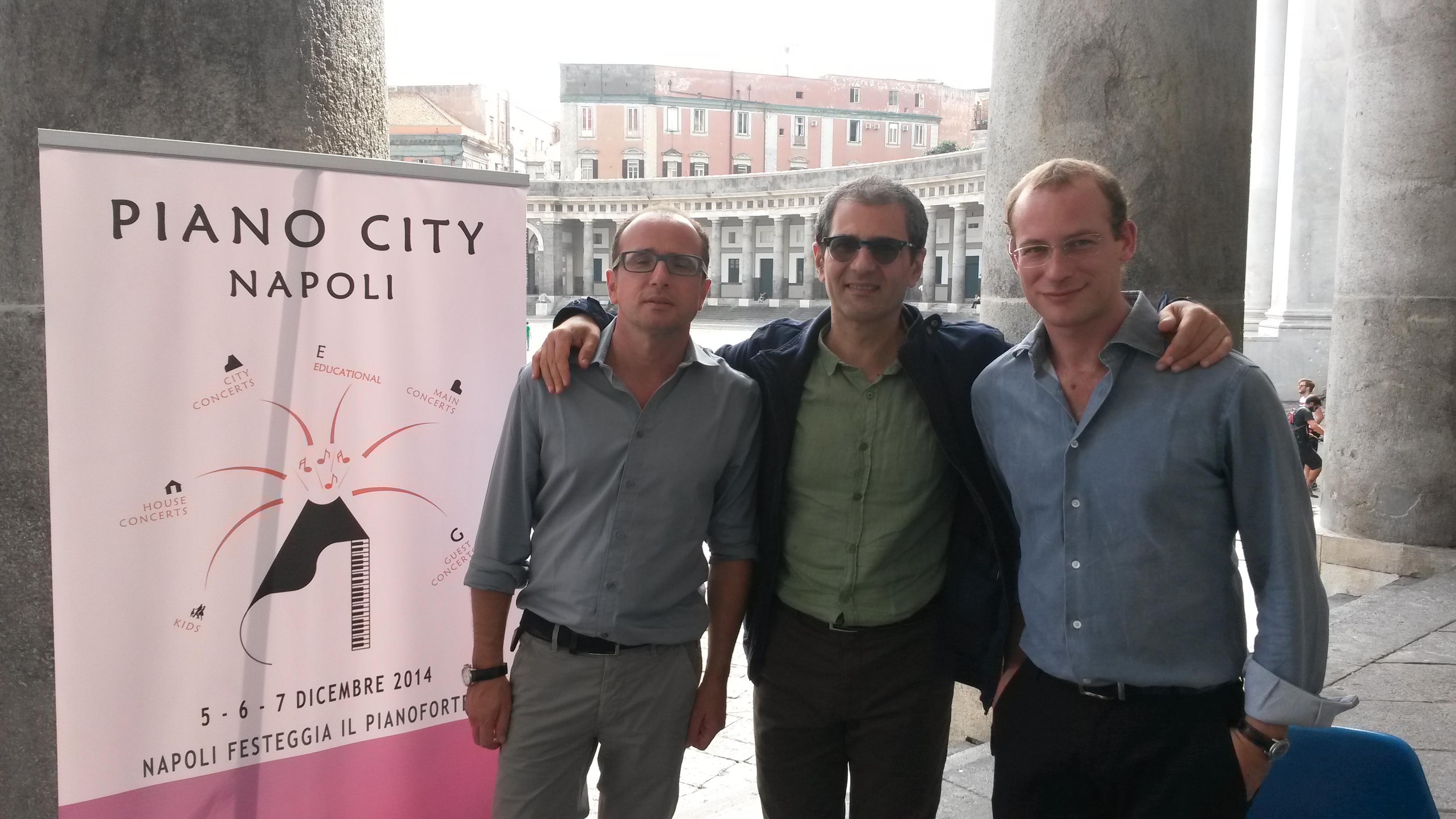 Piano City Napoli organizzatori