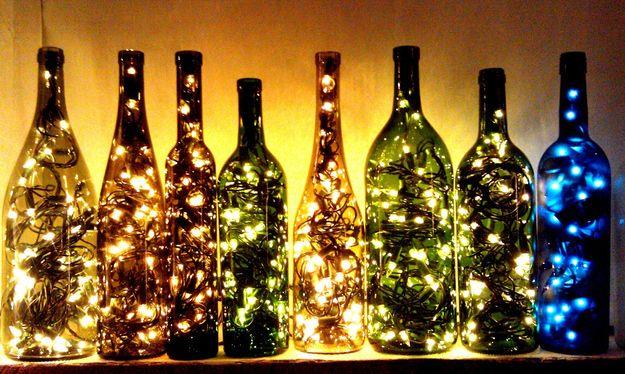 bottiglie lampade