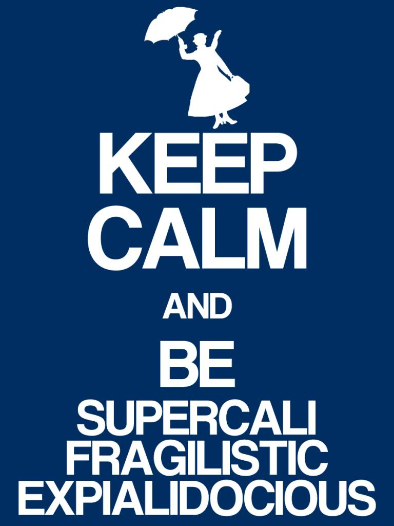 keep calm mary poppins